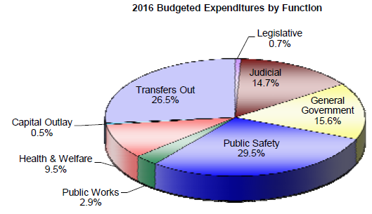 2016 Budgeted Expenditures by Function.PNG